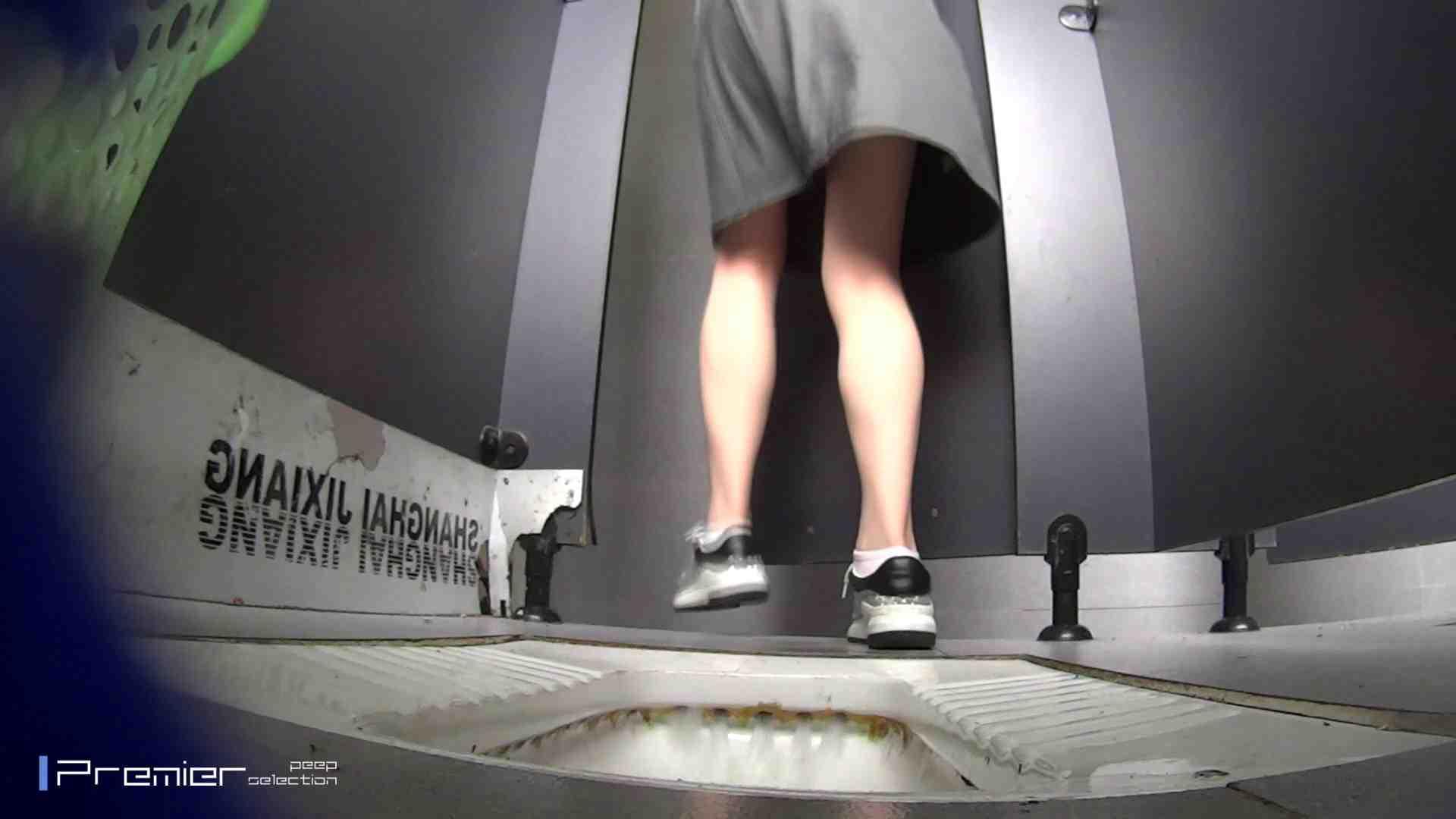 夏全開!ハーフパンツのギャル達 大学休憩時間の洗面所事情44 盗撮 のぞき動画画像 70PIX 46
