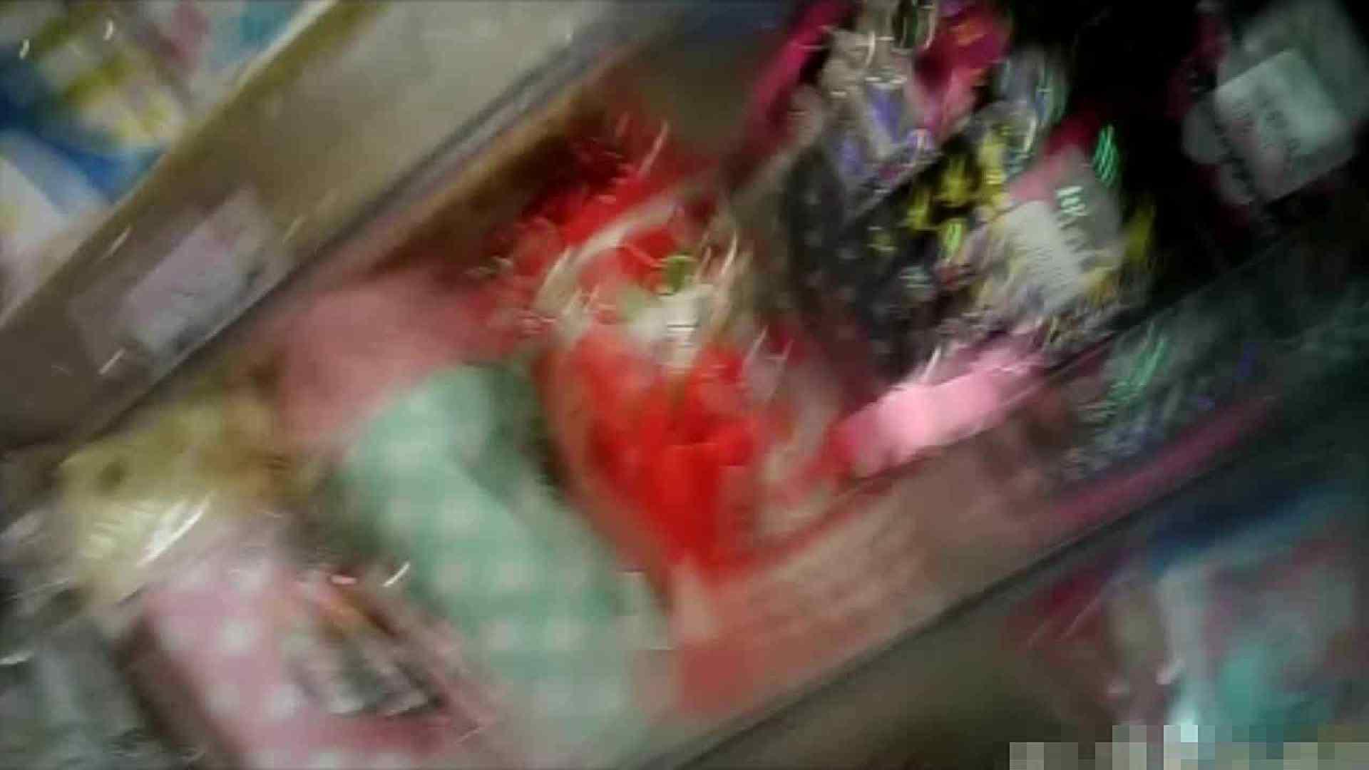 NO.5 意外に豊満な胸の雑貨屋で物色中のお女市さん 胸チラ  66PIX 10