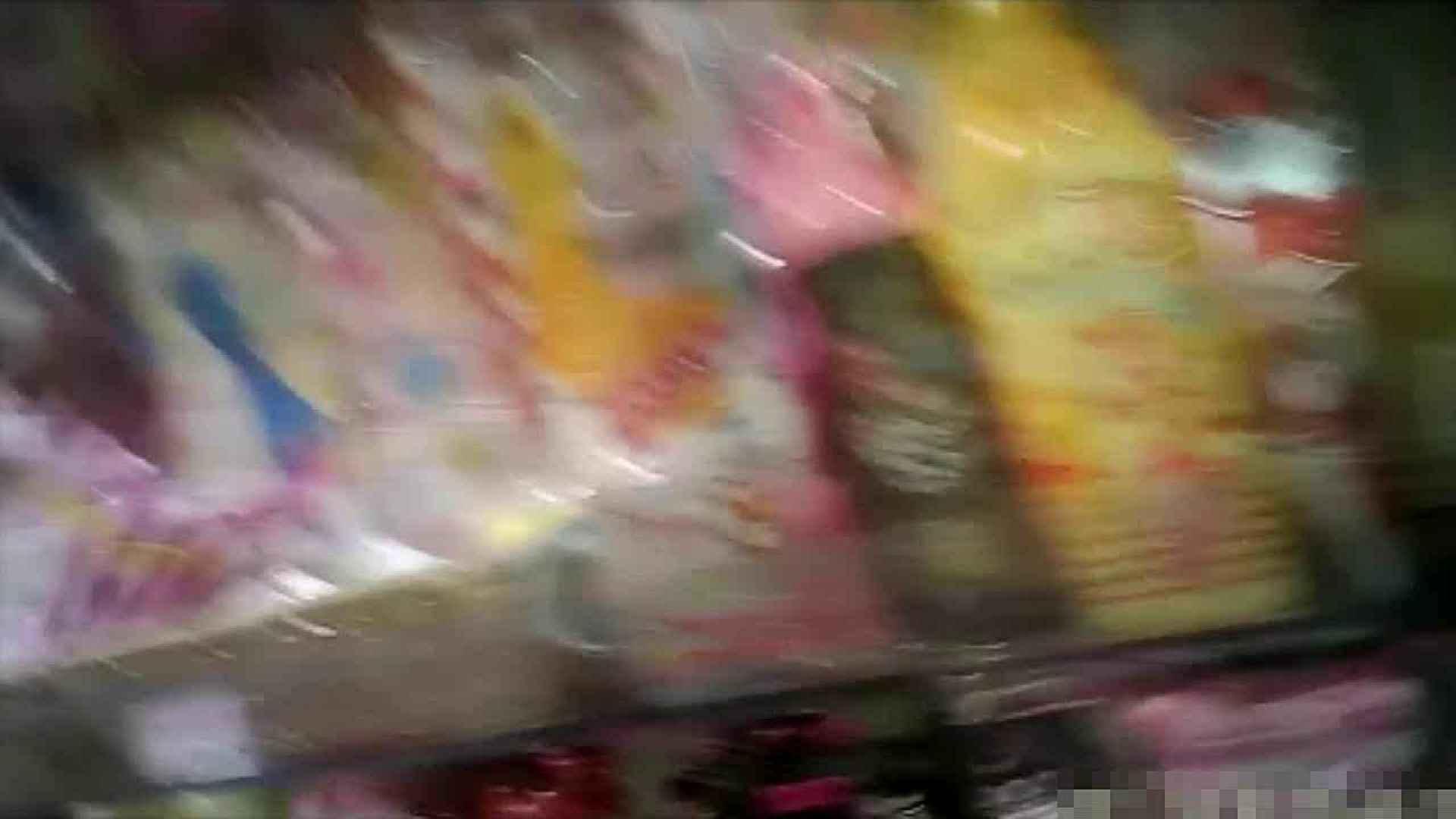 NO.5 意外に豊満な胸の雑貨屋で物色中のお女市さん 胸チラ  66PIX 44