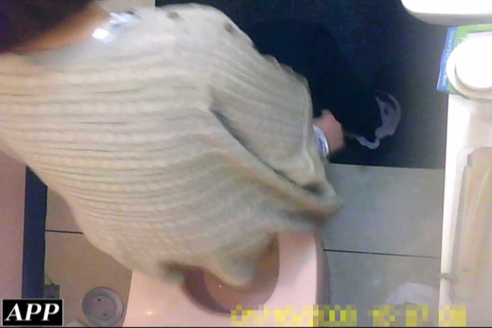 3視点洗面所 vol.23 肛門   OLのボディ  73PIX 13