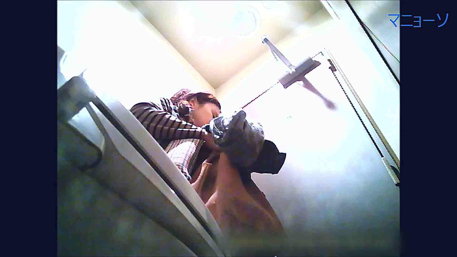 トイレでひと肌脱いでもらいました (OL編)Vol.11 肛門 ワレメ動画紹介 64PIX 2