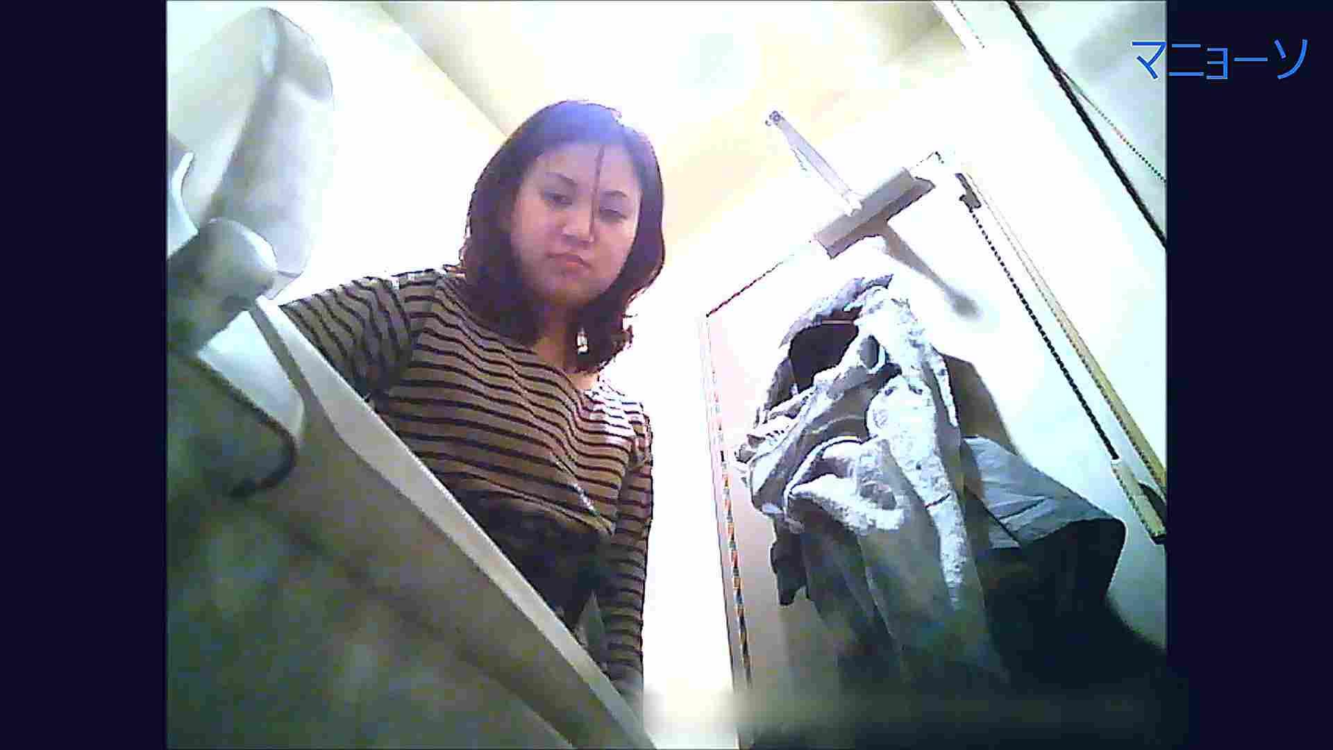 トイレでひと肌脱いでもらいました (OL編)Vol.11 肛門 ワレメ動画紹介 64PIX 32