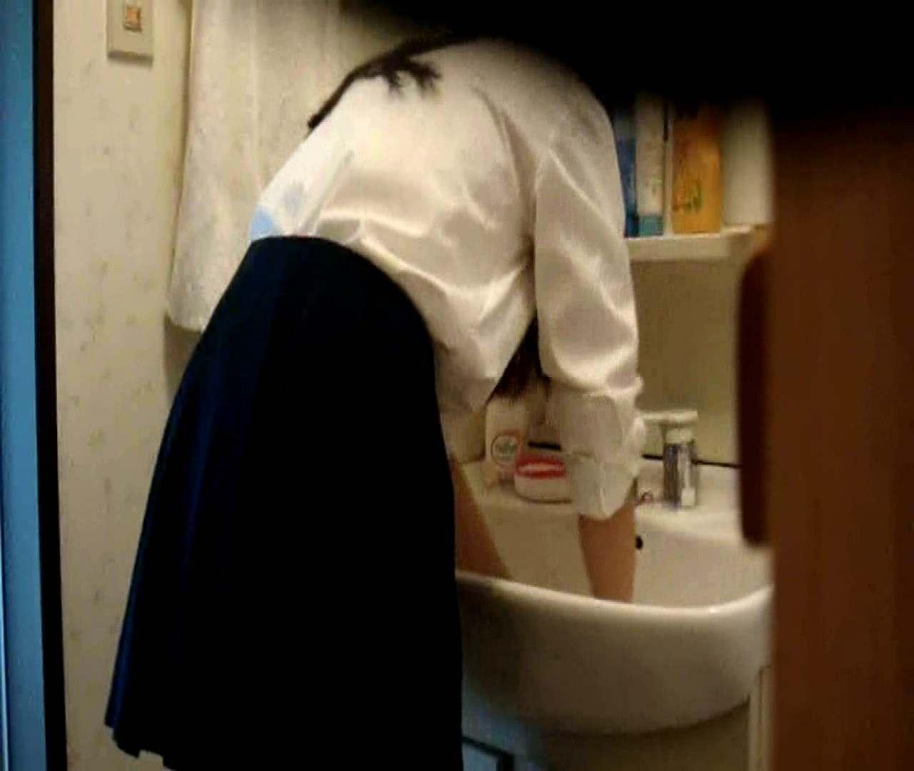 vol.5 まどかが帰宅後の洗顔後にブラを洗ってます。 OLのボディ   0  68PIX 53
