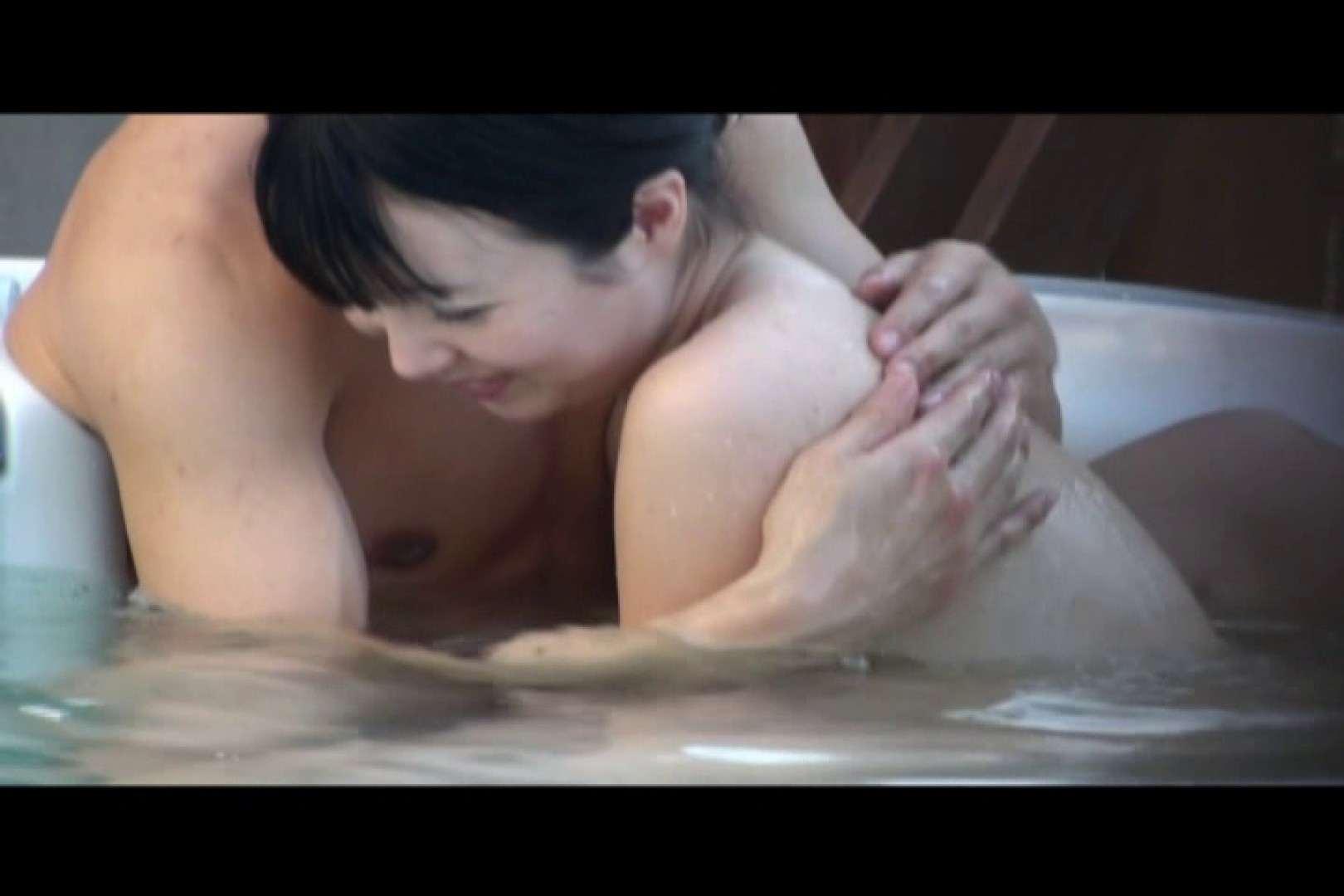 貸切露天 発情カップル! vol.09 OLのボディ   露天  92PIX 58