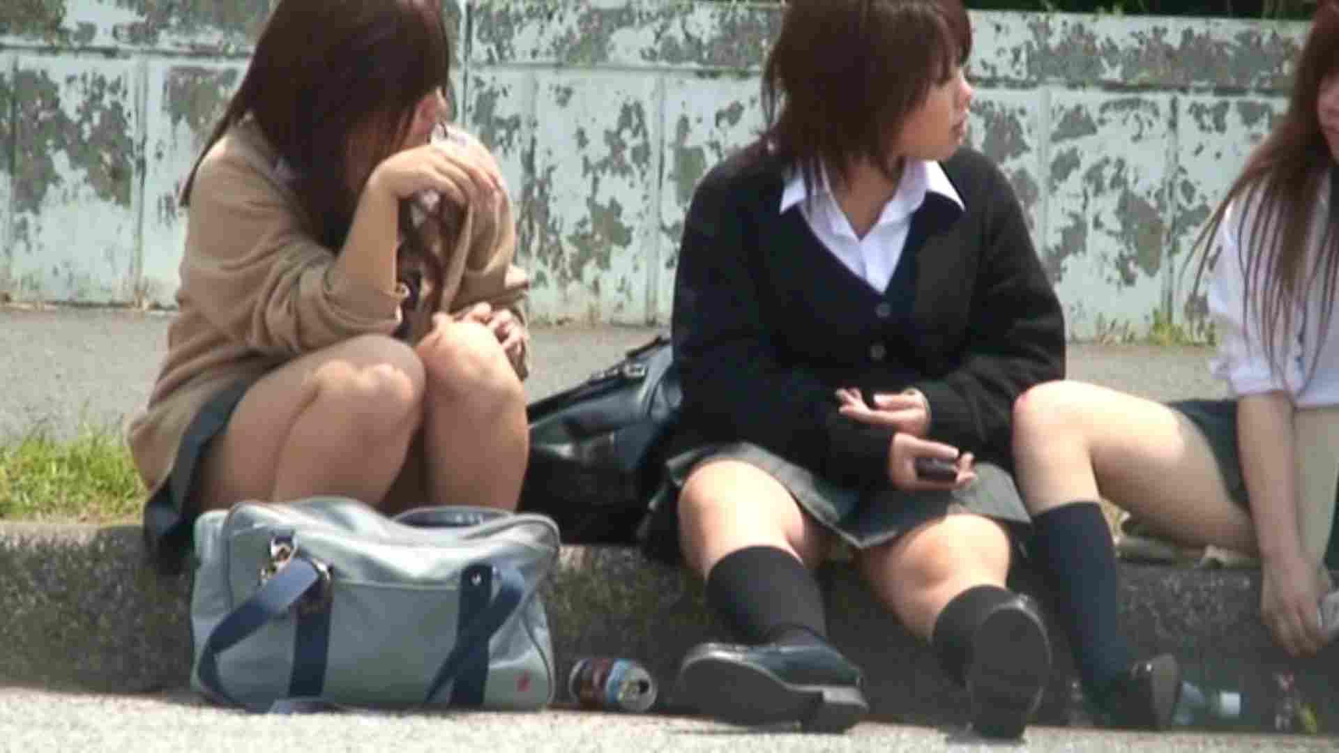 望遠パンチラNo3 学校潜入 盗撮動画紹介 83PIX 83