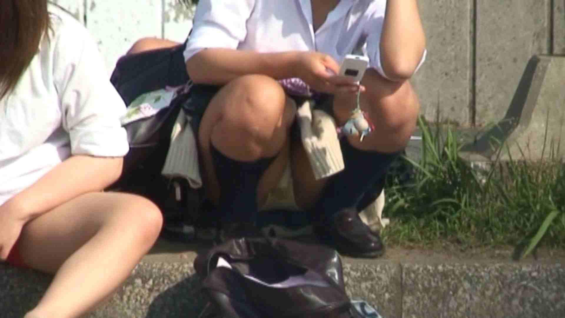 望遠パンチラNo5 学校潜入 のぞき動画画像 51PIX 38