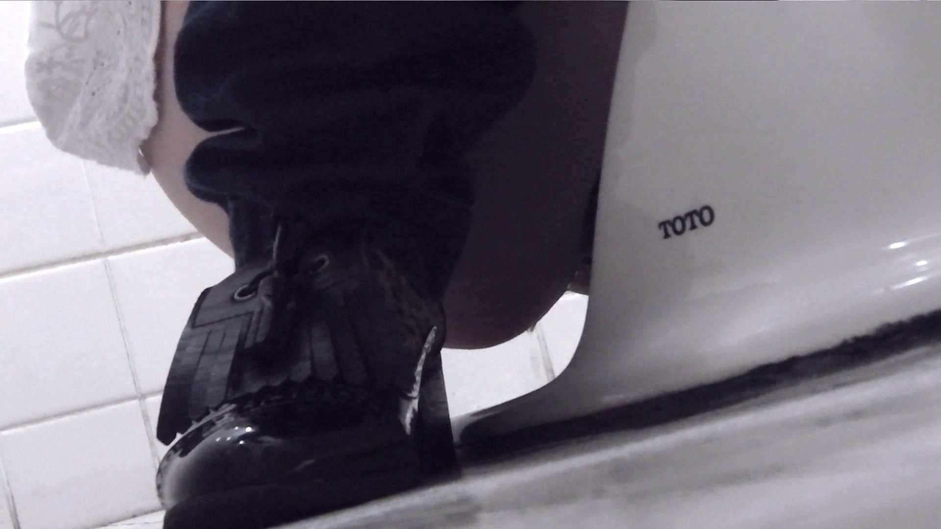 お銀さんの「洗面所突入レポート!!」Nol.4 OLのボディ 性交動画流出 104PIX 95