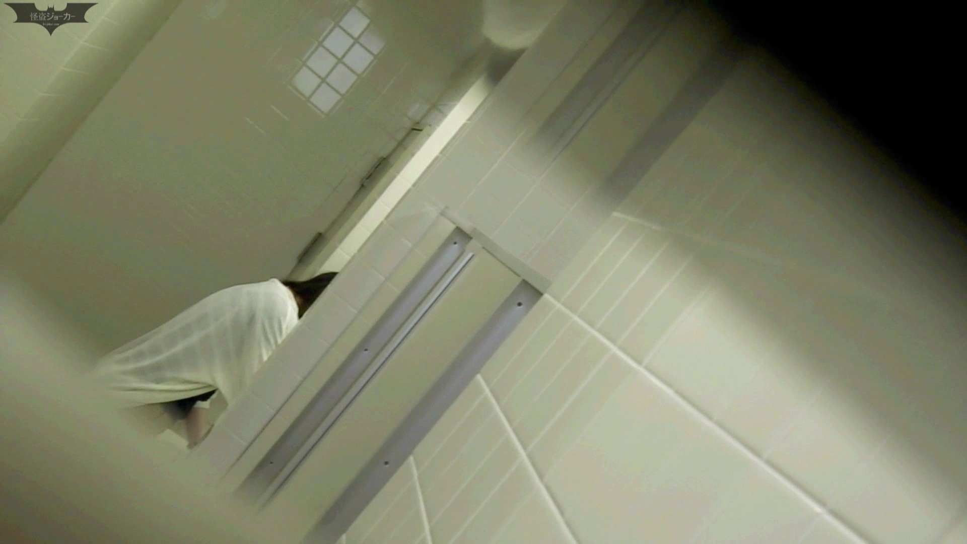 お銀 vol.68 無謀に通路に飛び出て一番明るいフロント撮り実現、見所満載 OLのボディ | 洗面所  70PIX 40