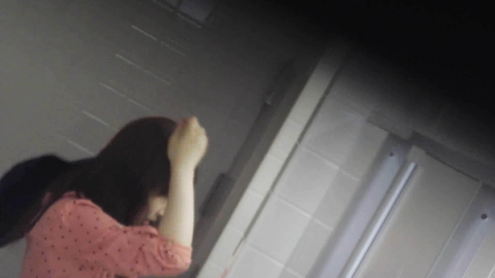 お銀さんの「洗面所突入レポート!!」 vol.28小島陽菜似のピンクオシャレさん 美人  88PIX 9