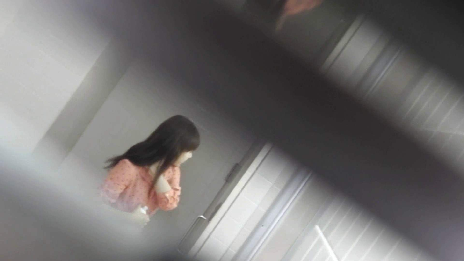 お銀さんの「洗面所突入レポート!!」 vol.28小島陽菜似のピンクオシャレさん 美人  88PIX 18