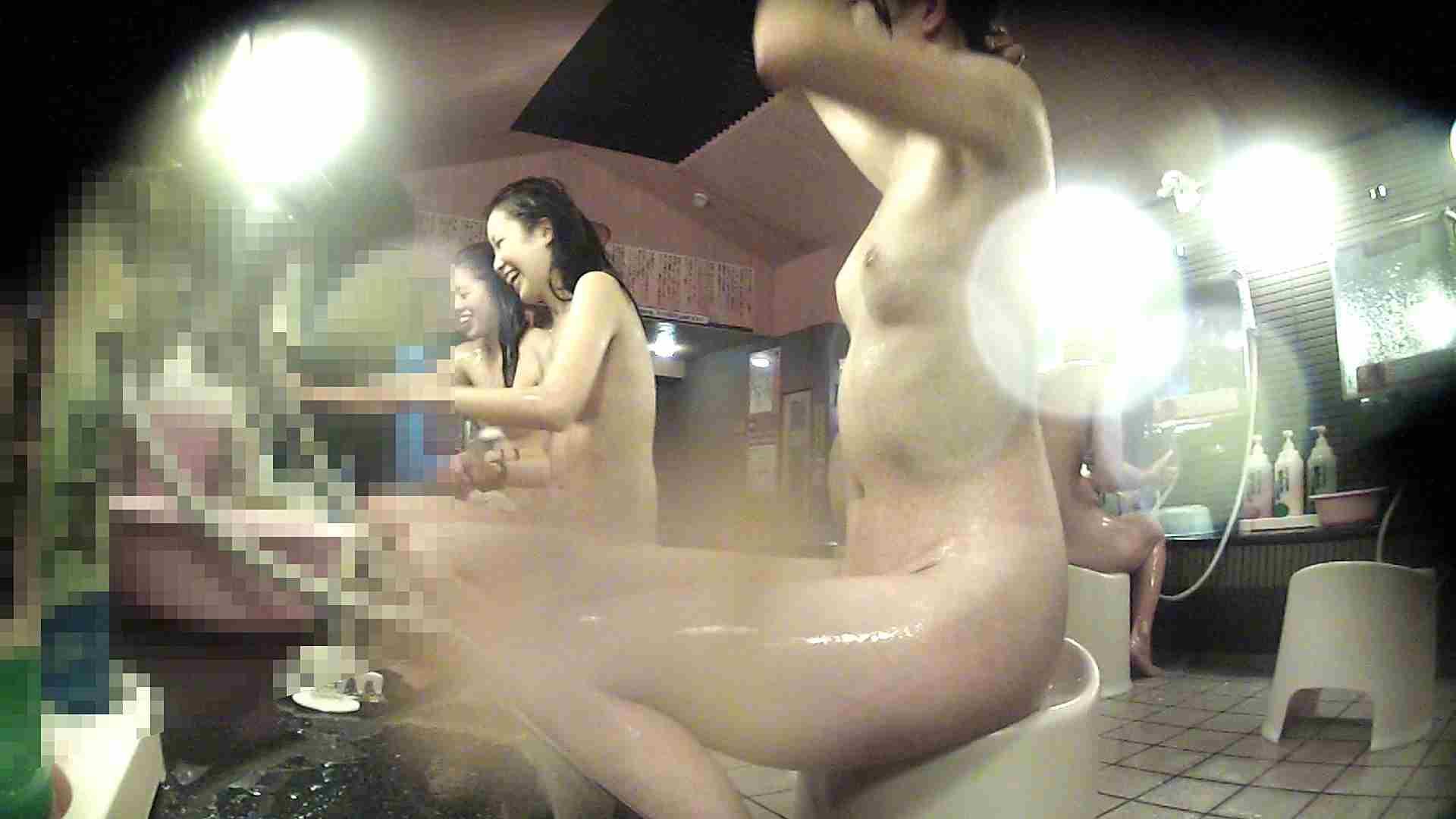 洗い場!お股の洗い方に好感が持てるお嬢さん 潜入  78PIX 56