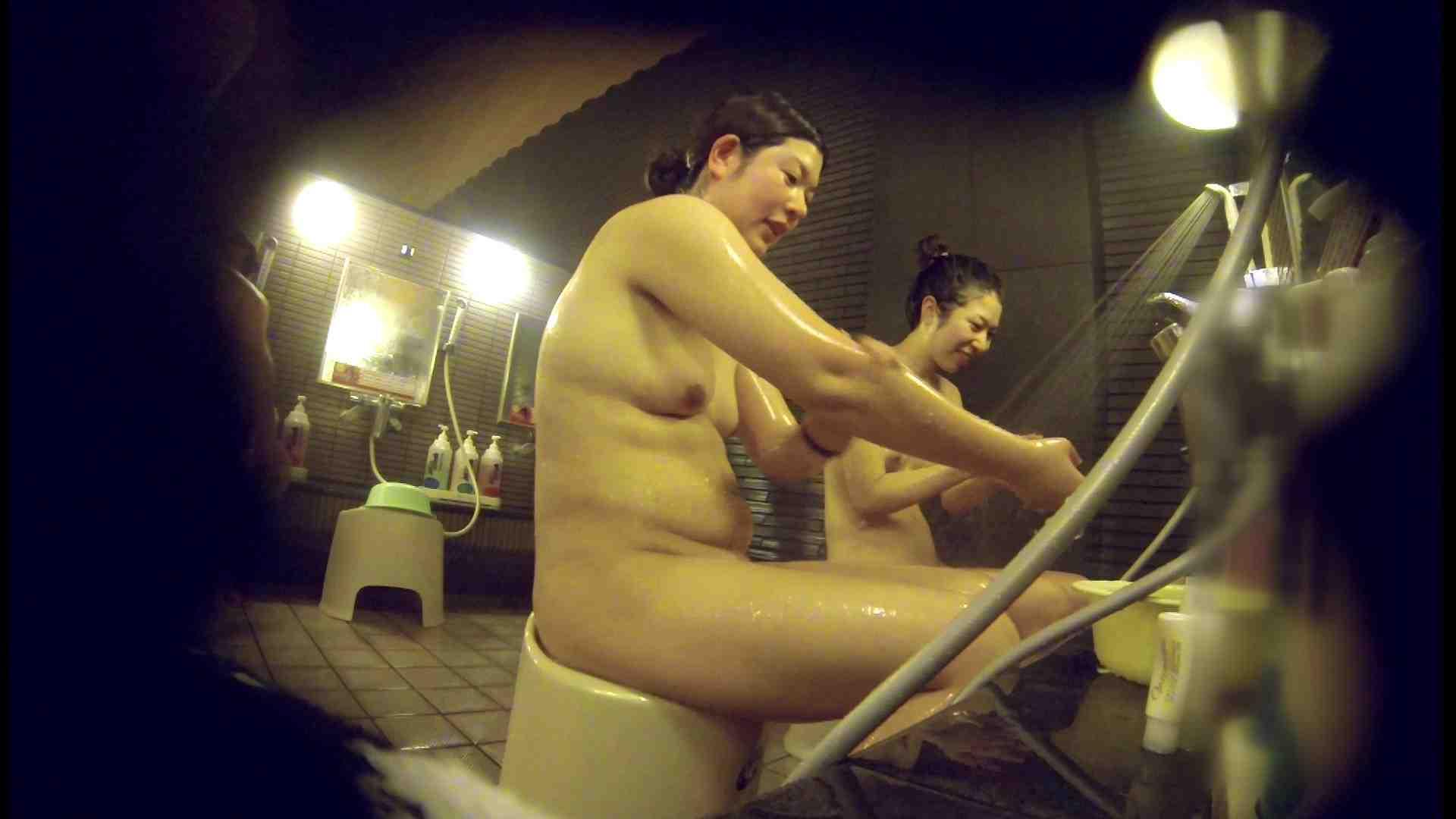 洗い場!んーーー残念なボディです。痩せれば抱けるかも? 銭湯 | 潜入  74PIX 3