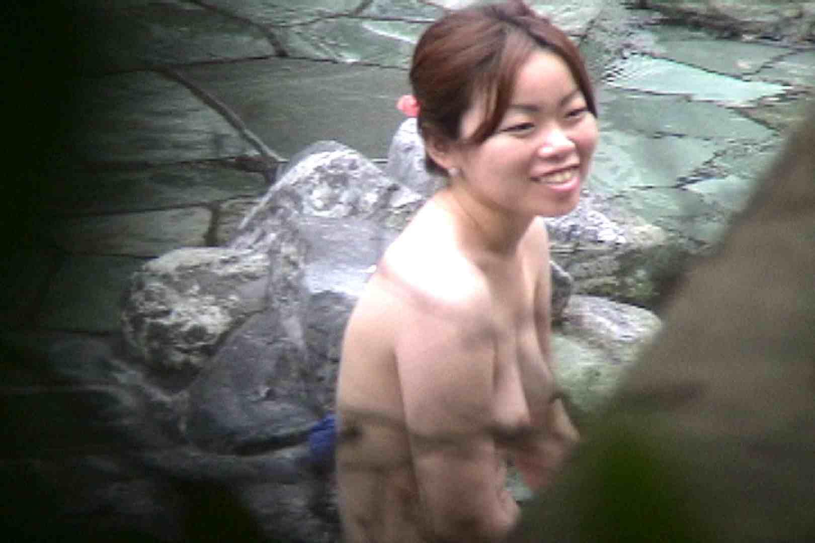 No.17 青い二人 美女のボディ   露天  87PIX 43