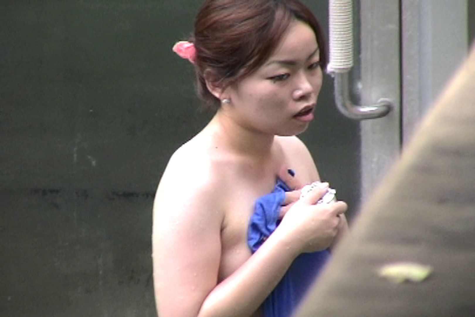 No.17 青い二人 美女のボディ   露天  87PIX 83